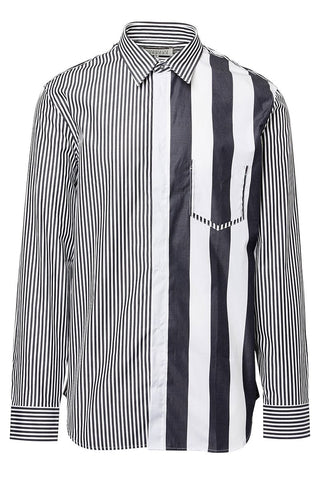 Maison Margiela, Décortiqué Striped Shirt