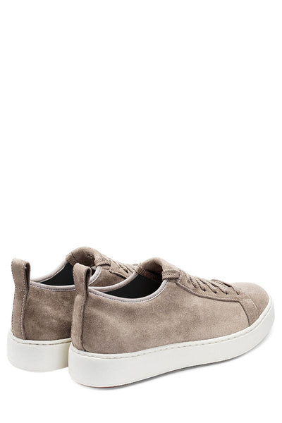Stretch Suede Sneakers