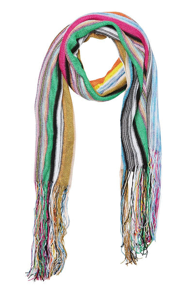 Missoni, Striped Fringe Scarf