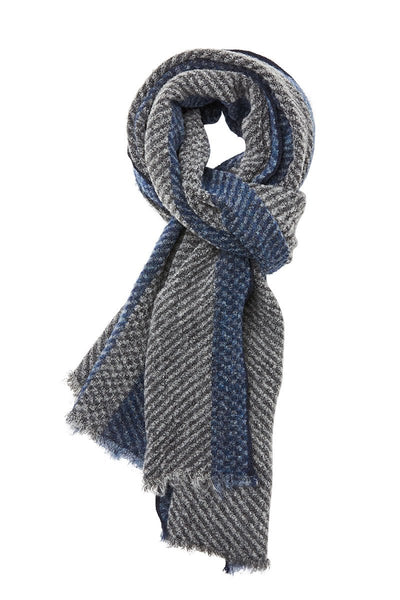 , Colorblock Stripe Scarf