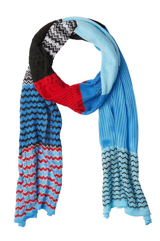 Missoni, Patchwork Knit Scarf