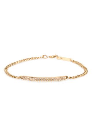 Zoë Chicco, Small Curb Chain ID Bracelet
