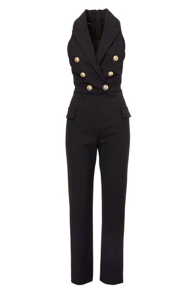 Balmain, Double Breasted Jumpsuit