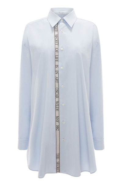 Oscar Wilde Oversize Tape Shirt