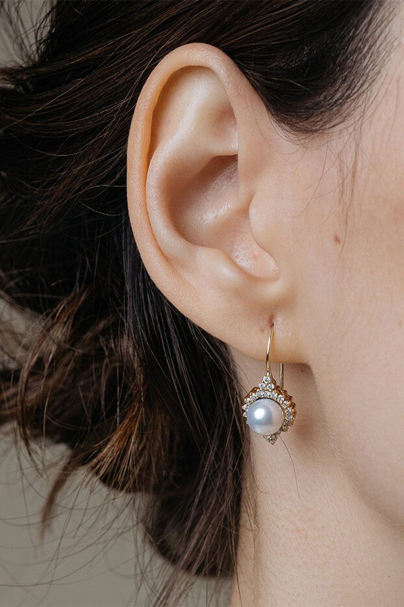 Giverny Pearl Earrings