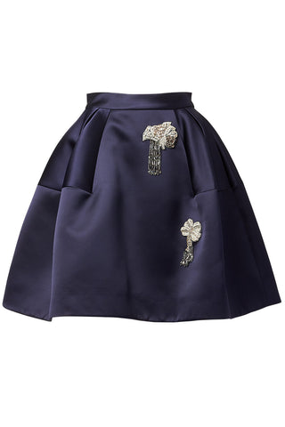 Dice Kayek, Embellished Mini Skirt