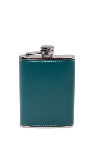 6oz Leather Bound Hip Flask