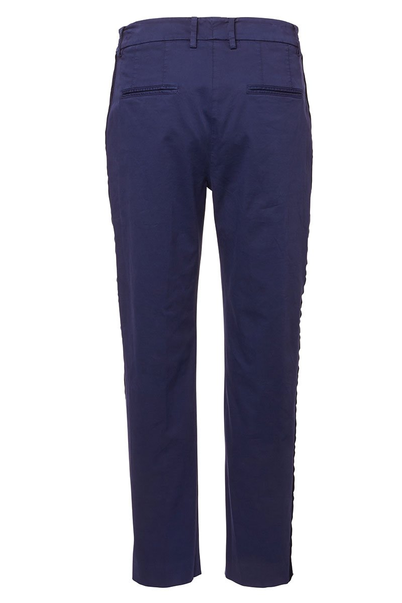 True Royal, Velvet Stripe Chinos