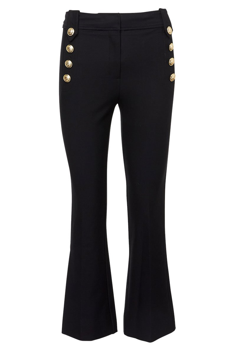 Derek Lam 10 Crosby, Robertson Cropped Sailor Pants