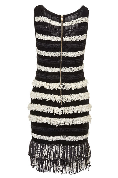 Balmain, Fringed Dress