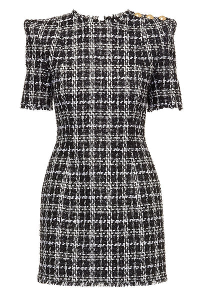 Balmain, Tweed Mini Dress