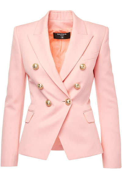 Balmain, Double Breasted Blazer