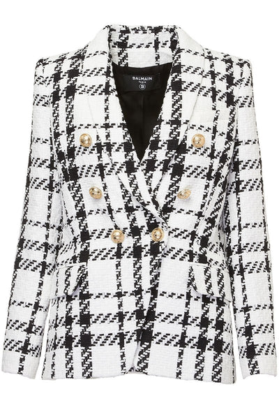 Balmain, Oversized Tweed Blazer
