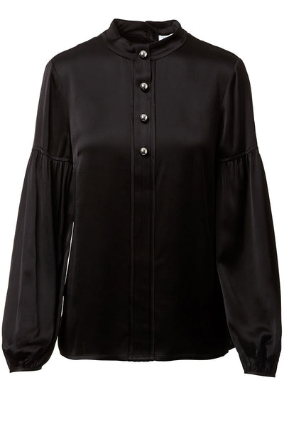 Derek Lam 10 Crosby, Mock Neck Blouse
