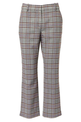 Derek Lam 10 Crosby, Plaid Twill Trousers