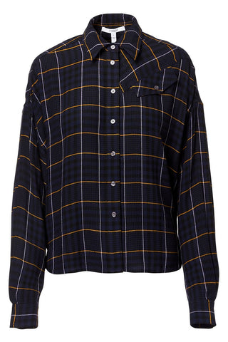 Derek Lam 10 Crosby, Plaid Button Down Shirt