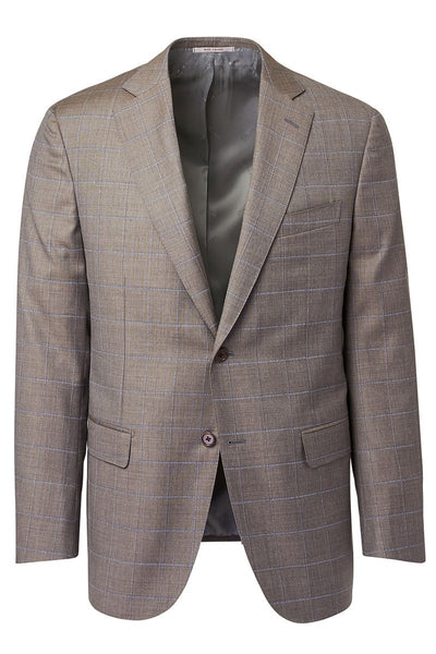 Ravazzolo, Windowpane Plaid Suit