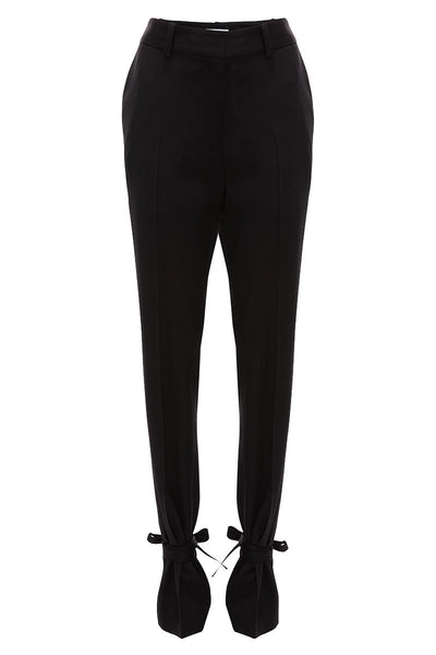 Ankle Tie Slim Trousers