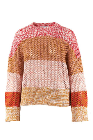 , Colorblock Sweater