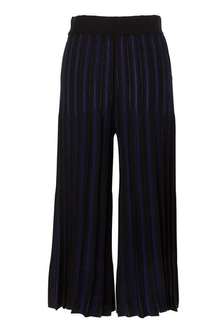 Flared Pleated Pant