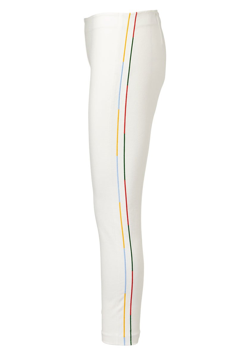 Derek Lam 10 Crosby, Rainbow Stripe Leggings