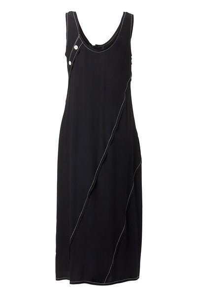 Derek Lam 10 Crosby, Asymmetrical Hem Tank Dress