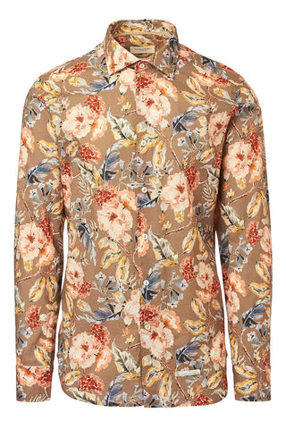 Tintoria Mattei, Watercolor Floral Sportshirt