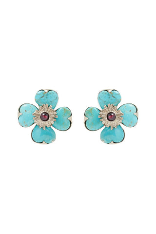 Trêfle Clip Earrings