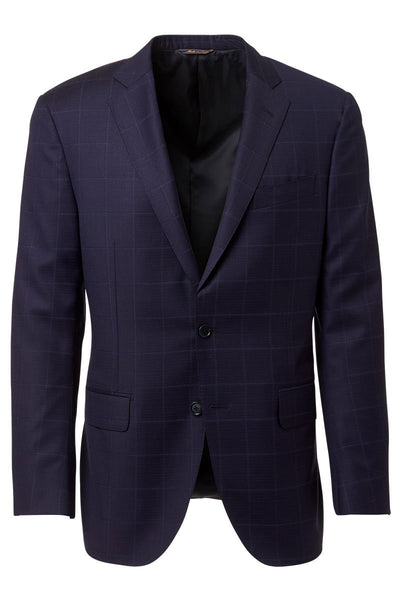 Trussini, Tonal Plaid Suit