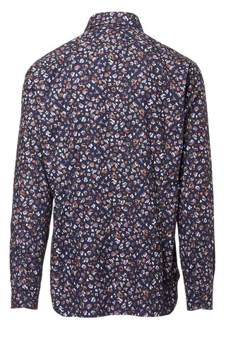 Barba, Patterned Sportshirt