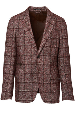 , Windowpane Plaid Sportcoat