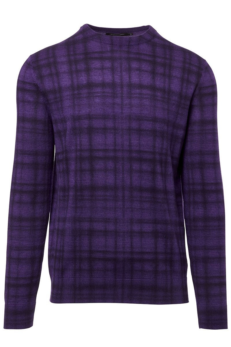 Ermenegildo Zegna, Printed Check Sweater