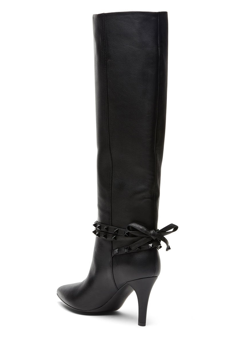 Rockstud Flair Leather Boots