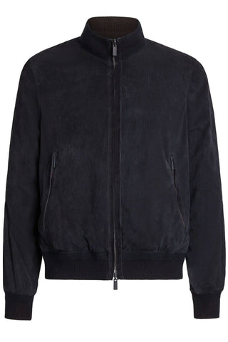 Suede Reversible Jacket