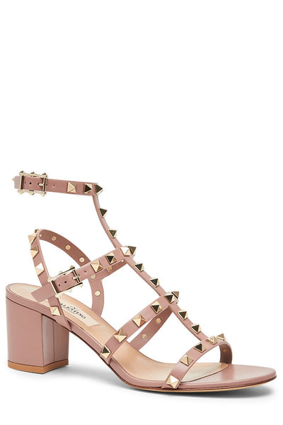 Rockstud Caged Sandals