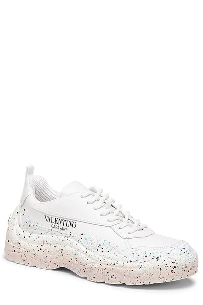 Paint Splatter Gumboy Sneakers