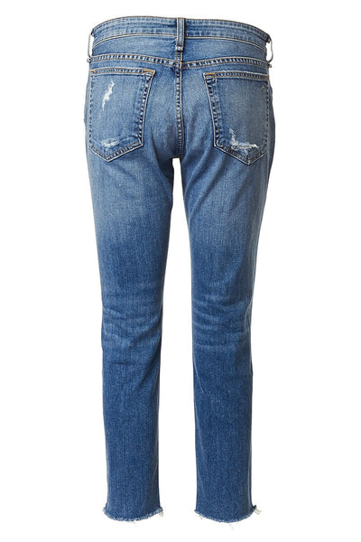 Rag & Bone, Dre Low-Rise Ankle Slim Boyfriend Jeans