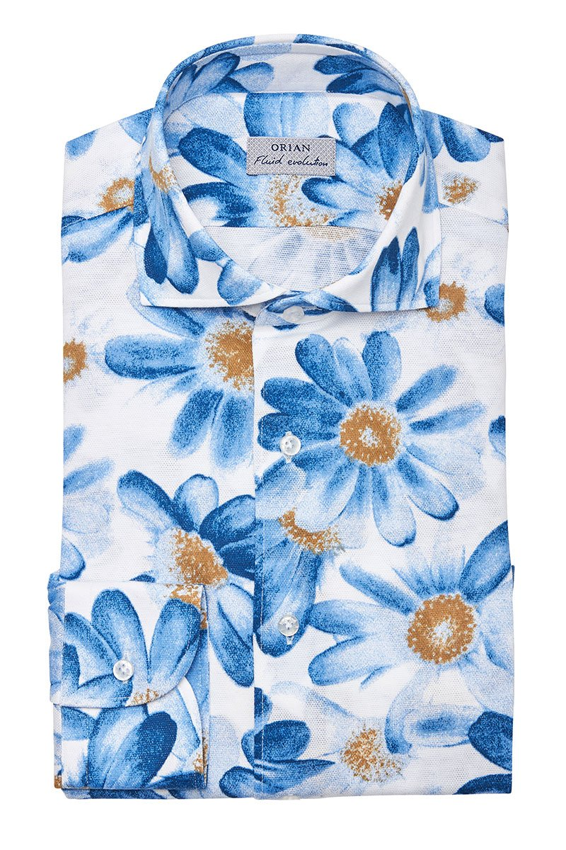 Orian, Bursting Floral Sportshirt