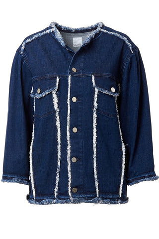 , Jordan Oversized Denim Jacket