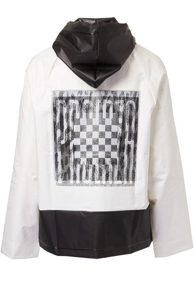 Proenza Schouler PSWL, Colorblock Short Raincoat