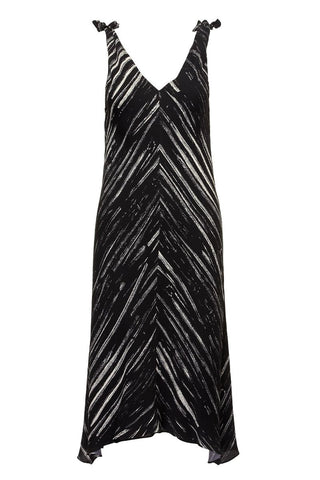 Proenza Schouler White Label, Brushstroke Knot Dress