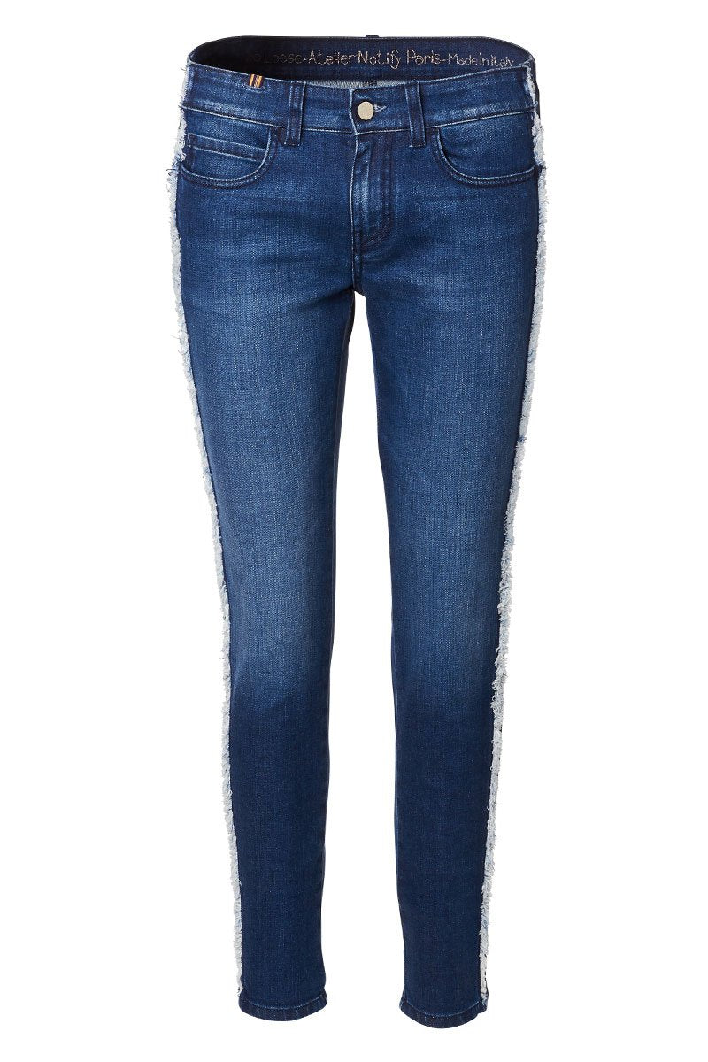 Bamboo Loose Stripe Jeans