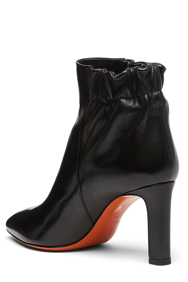 Santoni, Leather Ankle Boots