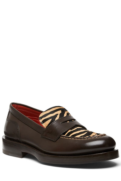 Santoni, Tiger Penny Loafers