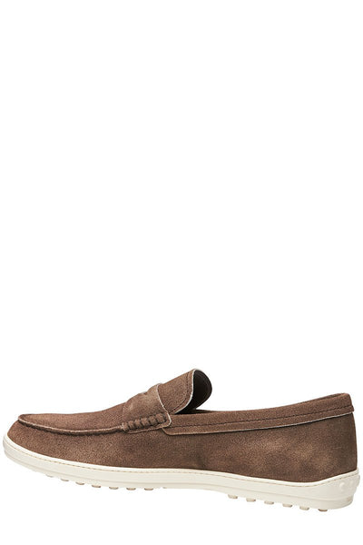 Tod's, Suede Penny Loafers