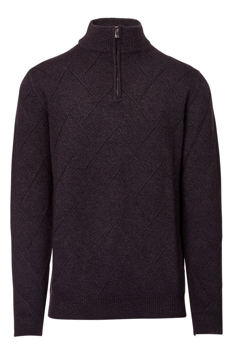 ISAIA, Mock Turtleneck Sweater