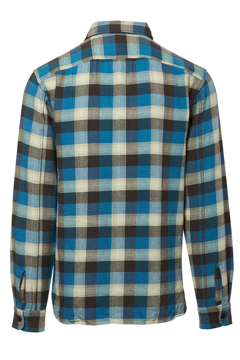 Plaid Twill Sportshirt