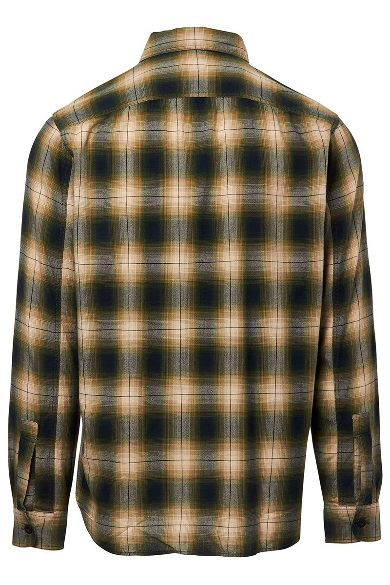 Ombre Plaid Sportshirt