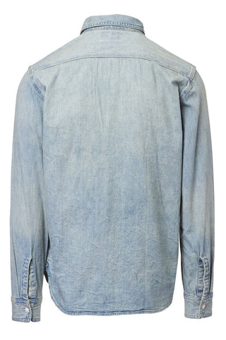 Double RL, Indigo Denim Sportshirt