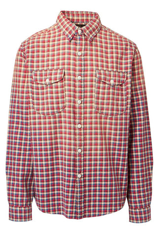 Double RL, Plaid Twill Workshirt